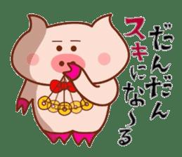 Kimiwabokuosukininaru! sticker #6462144