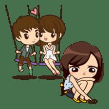 Alice in Secret Love version sticker #6462588