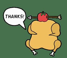 Chicken Cool Guy sticker #6467580