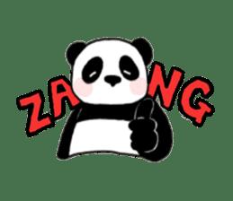 The Zang Panda sticker #6468120