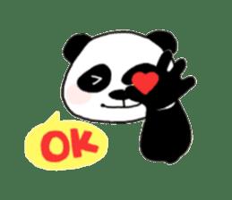 The Zang Panda sticker #6468127