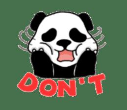 The Zang Panda sticker #6468133