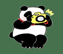 The Zang Panda sticker #6468149