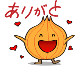 Cute Onion sticker #6470274