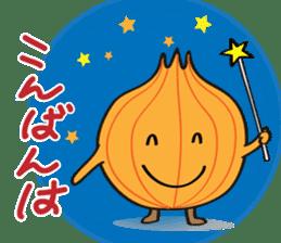 Cute Onion sticker #6470278