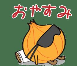Cute Onion sticker #6470279