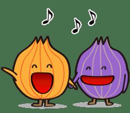 Cute Onion sticker #6470284