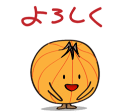 Cute Onion sticker #6470286