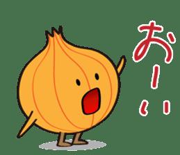 Cute Onion sticker #6470288
