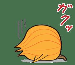 Cute Onion sticker #6470291