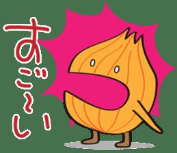 Cute Onion sticker #6470298