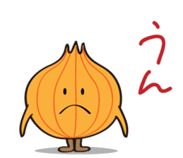 Cute Onion sticker #6470303