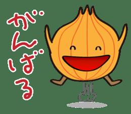 Cute Onion sticker #6470307