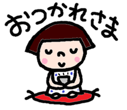 Japanese girl coto-chan vo.12 sticker #6475238