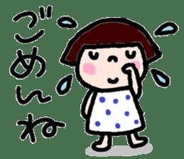 Japanese girl coto-chan vo.12 sticker #6475261