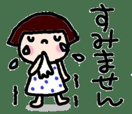 Japanese girl coto-chan vo.12 sticker #6475262
