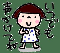 Japanese girl coto-chan vo.12 sticker #6475266