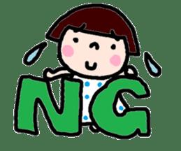 Japanese girl coto-chan vo.12 sticker #6475271
