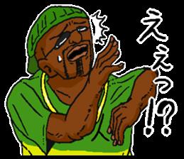 Annoying black man. sticker #6496220