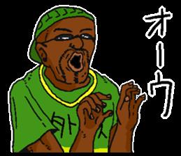 Annoying black man. sticker #6496224