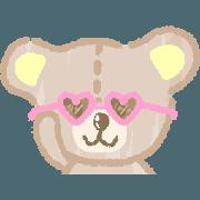 สติ๊กเกอร์ไลน์ Pastel Bear Pastel Bear 2