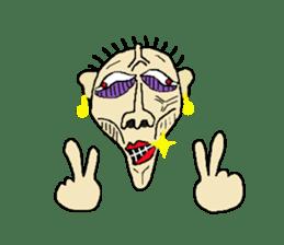 KIMOKAWA-SAN sticker #6500409