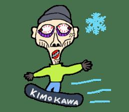 KIMOKAWA-SAN sticker #6500430