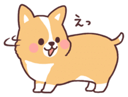 fluffy fat dog2 sticker #6503813