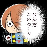 สติ๊กเกอร์ไลน์ Kawaii Gegege no Kitaro
