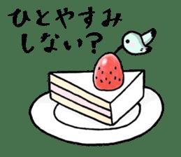 Hummingbird Sticker  [Happy-chan] sticker #6507719