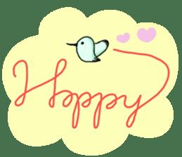 Hummingbird Sticker  [Happy-chan] sticker #6507749