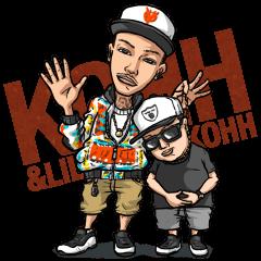 KOHH & LIL KOHH LINE Sticker