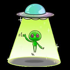 L.E.T green invader