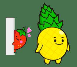 lovely fruit sticker #6519589