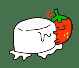 lovely fruit sticker #6519594