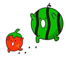 lovely fruit sticker #6519596