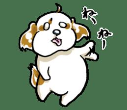 Freely Shih Tzu sticker #6520188