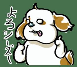 Freely Shih Tzu sticker #6520190