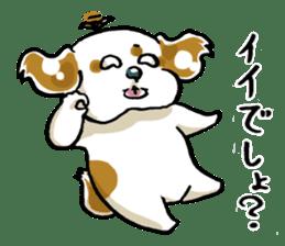 Freely Shih Tzu sticker #6520197