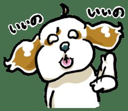 Freely Shih Tzu sticker #6520198