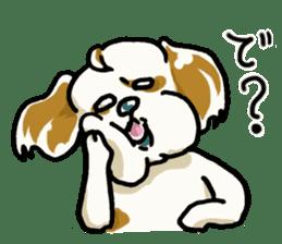 Freely Shih Tzu sticker #6520200