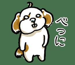 Freely Shih Tzu sticker #6520203