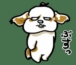 Freely Shih Tzu sticker #6520204