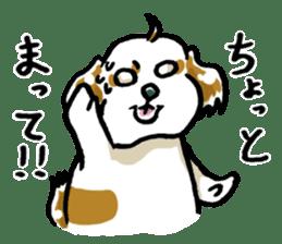 Freely Shih Tzu sticker #6520205