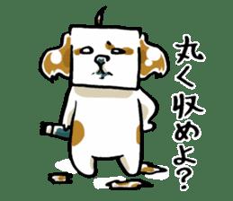 Freely Shih Tzu sticker #6520218