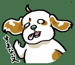 Freely Shih Tzu sticker #6520219