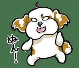Freely Shih Tzu sticker #6520220