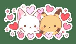 Two fox sticker #6522668