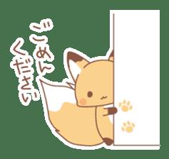 Two fox sticker #6522674