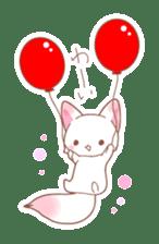Two fox sticker #6522676